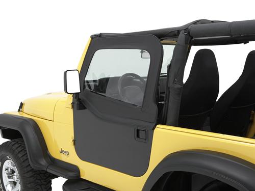 element steckfensterset black diamond fenster jeep wrangler tj 96 06 ebay. Black Bedroom Furniture Sets. Home Design Ideas