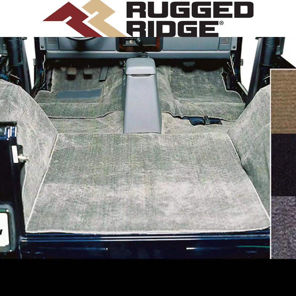 02 Wrangler YJ  02 Wrangler YJ  Carpet Kit brown  160613