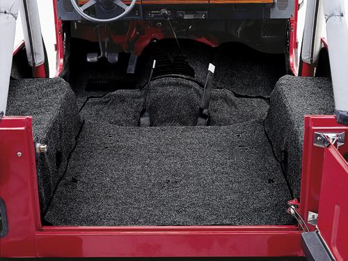 03 Wrangler TJ  03 Wrangler TJ  Carpet Kit black  160624