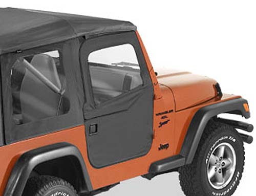 03 wrangler tj 03 wrangler tj 2 piece softop doors black diamond 51789 35. Black Bedroom Furniture Sets. Home Design Ideas