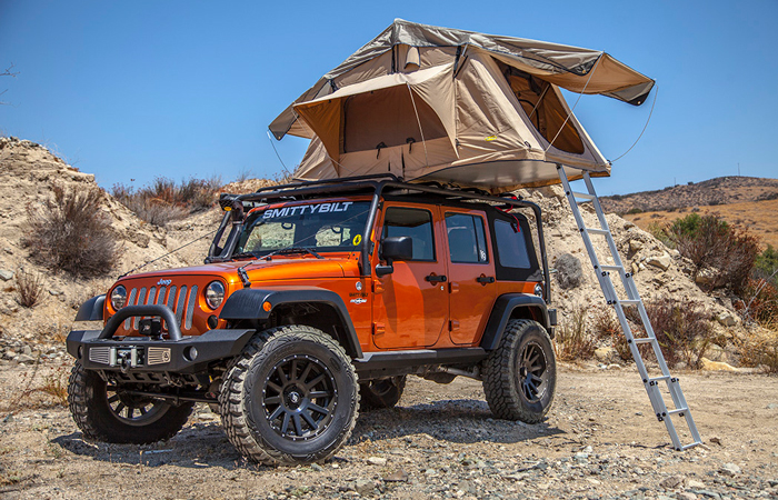 11 Rooftent Roof Rack Overhead Jeep Wrangler Cherokee